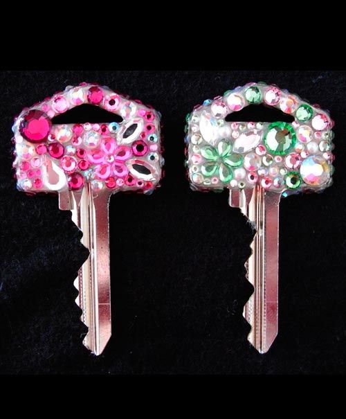 love to design your house key well try this designs on your house keys