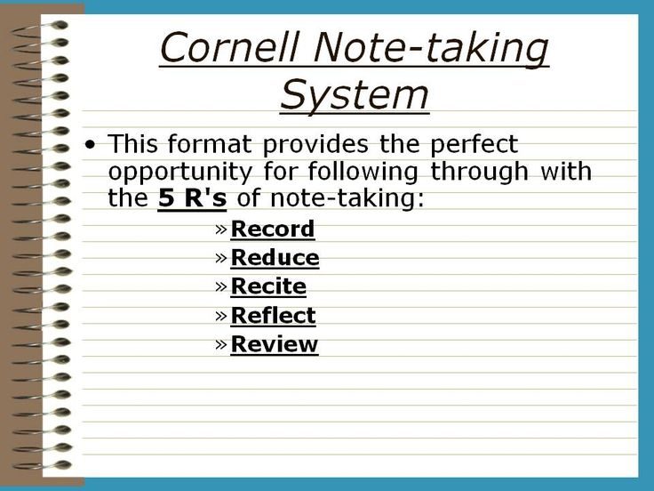 The  Best Cornell Notes Example Ideas On   Cornell