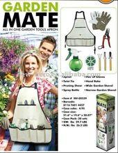 herramientas de jardinería kit delantal