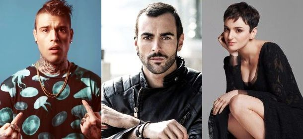 Mengoni-fedez-arisa-....tre cantanti completamente diversi.....  ;)