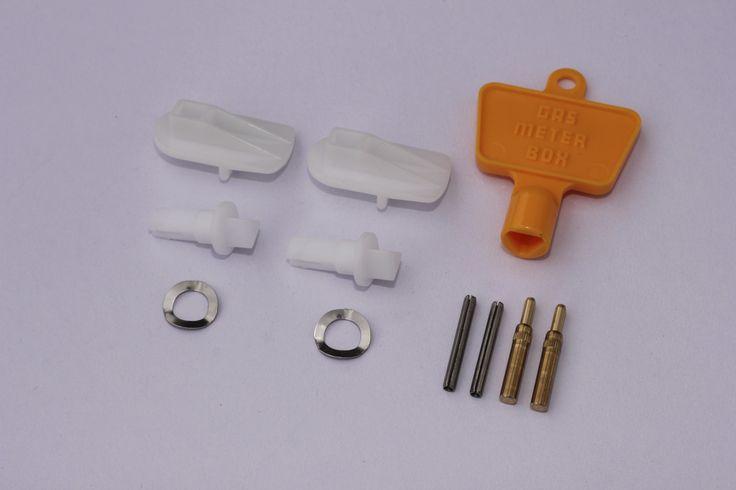 Electric & Gas Meter Box Lock Repair Kit