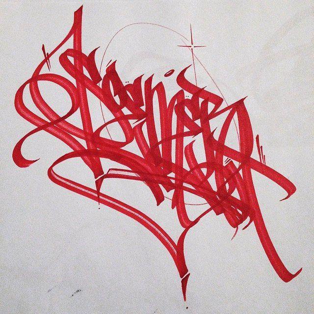 blood hands by the Soem (@soems). #soem #handstyle #graffiti //follow @handstyler on Instagram