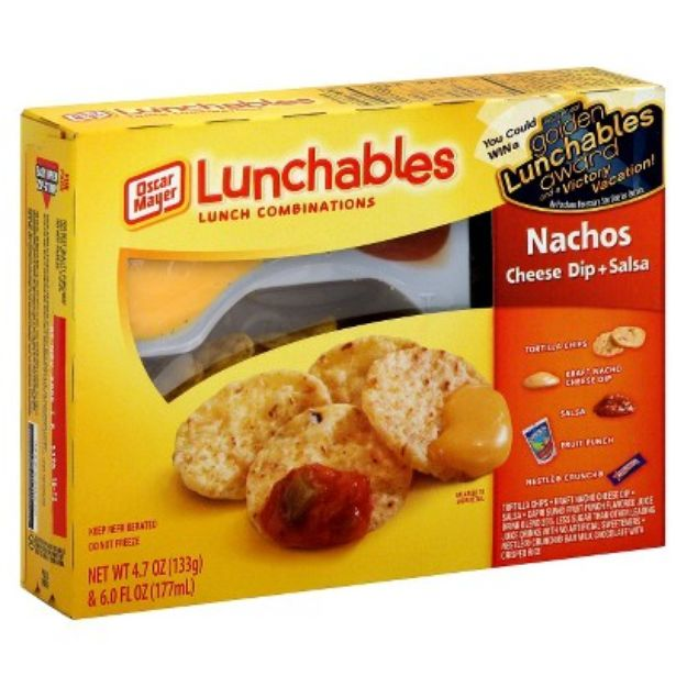 42902 Oscar Mayer Lunchables Nachos With Cheese Dip And Salsa 4 7 Oz Tray 4 7 Oz as well Lunchables nachos moreover 24669 Prepared Meals besides 281493 Lunchable Pizza Nutrition Label furthermore Dannon Oikos Dips Jalapeno And Salsa Yogurt Dip 12 Oz 1398940. on oscar mayer lunchables nachos