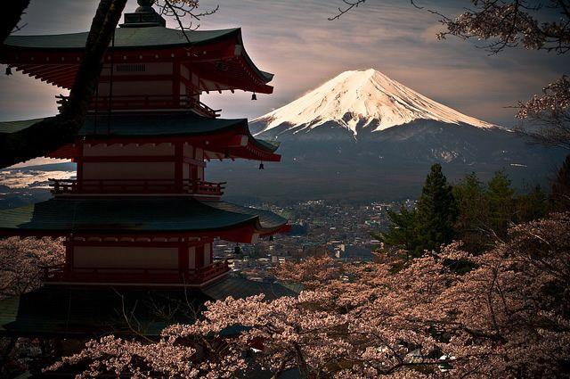 Un fond Fuji