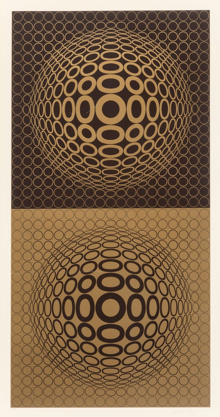 Victor Vasarely (French, 1906-1997) Tuz-Tuz, 1976 Screenprint in colors on wove paper