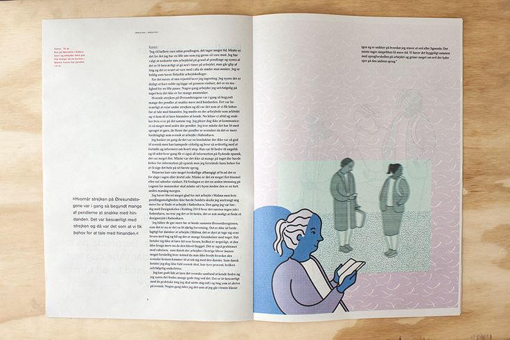 magazine design & illustration by maja haak
