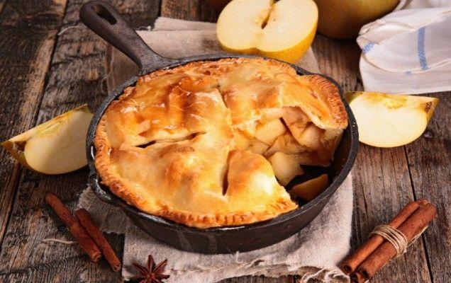Σκεπαστή μηλόπιτα - iCookGreek
