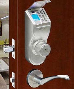 ITouchless Bio Matic Fingerprint Deadbolt Door Lock   Access With  Fingerprint, Passcode Or Key