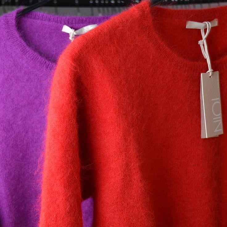 NIOI soft knit in happy colours