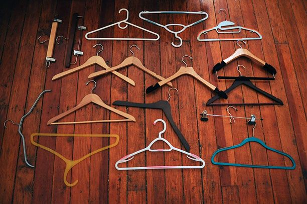 Ever wonder how to tell which hangers are best for what clothes? *click for rankings*