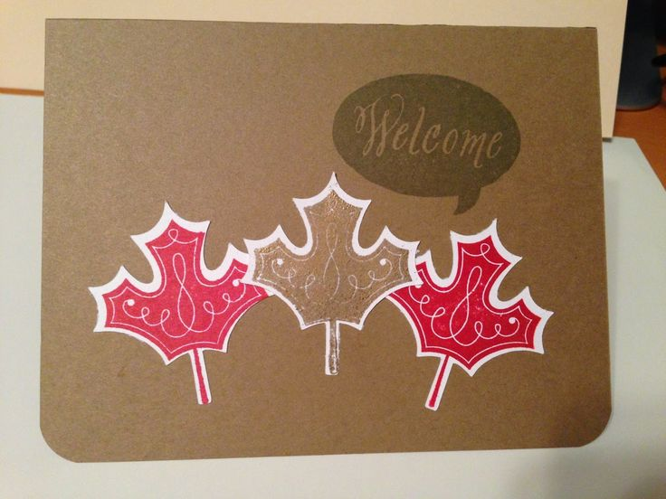 Canadian Cards! Welcome to Canada!!