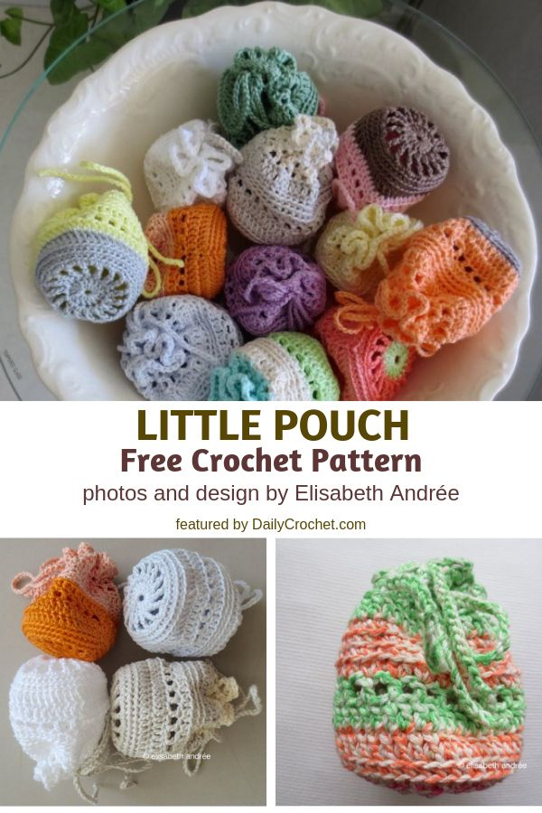 Little Pouch Free Crochet Pattern- Inexpensive, Pretty, And Quite Handy