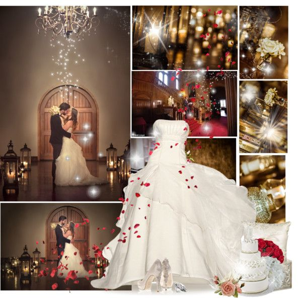 Wedding by nina1596 on Polyvore featuring Hortense B. Hewitt and Guide London