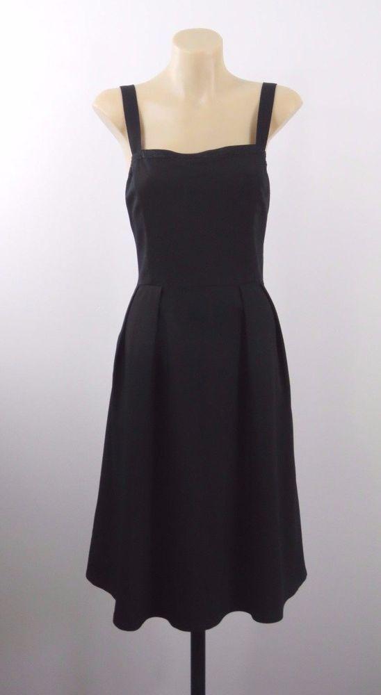 Size M 12 Princess Highway Ladies Black Dress Retro Pinup Rockabilly Casual Chic #PrincessHighway #50sRockabilly #Casual