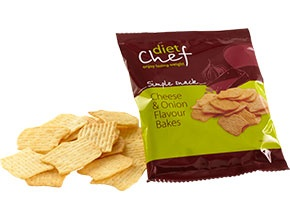 Diet Chef Cheese & Onion Flavour Bakes
