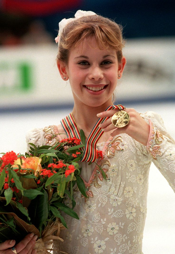 Tara Lipinski--15 years-youngest ever to win Olympic Gold 1998...definitely my favorite!!