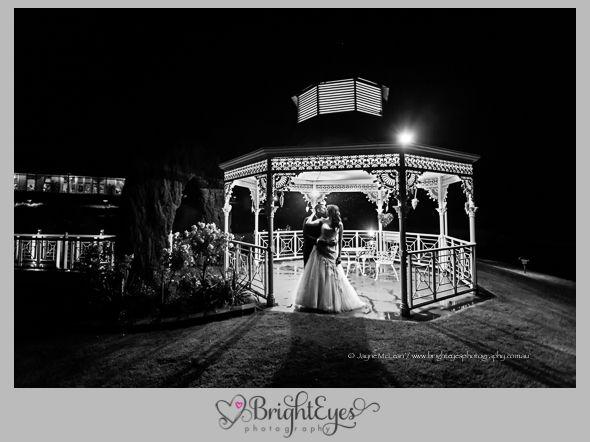 eagle ridge wedding on the mornington peninsula is an amazing venue for night photography! Bright Eyes Photography - Mornington Peninsula Wedding Photographer