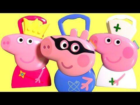 Brinquedo Maleta Super Herói George Pig BR - Estuche Peppa Pig Cooking Case - Paw Patrol Mashems - YouTube