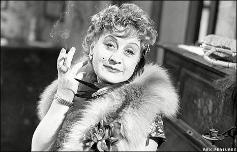 Mollie Sugden in 1961 - Big Fan of hers when she was on the tv show Are You Being Served