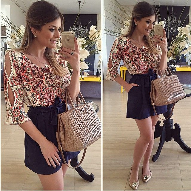 {De Hoje} Look @luziafazzolli • #lookdodia #basiquinho #lookoftheday #ootd #selfie #blogtrendalert