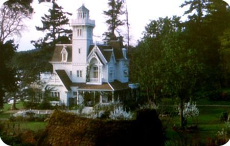 The exterior of the house from the film Practical Magic- still in love with that place.