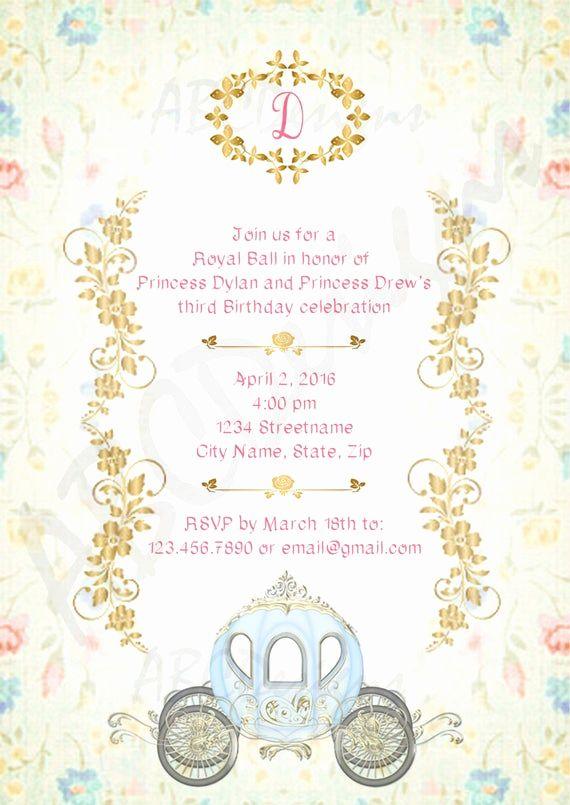 Royal Ball Invitation Wording Inspirational Royal Ball Birthday Girl Invitat Wedding Invitations Printable Templates Bridal Invitations Wedding Invitation Text