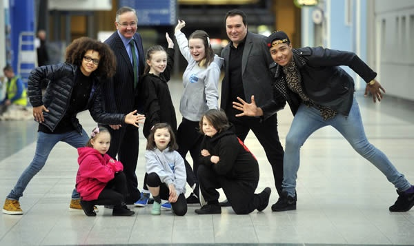 *NEWS FLASH* Diversity stars Perri Kiely and Jordan Banjo helped announce today that Glasgow is to host the UDO Street Dance World Championships in August at the SECC > http://bbc.in/VeDGk5 and again in 2014 and 2015!
