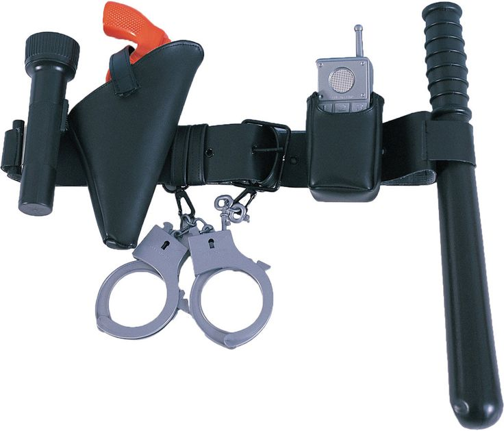 costume accessory: police officer belt child