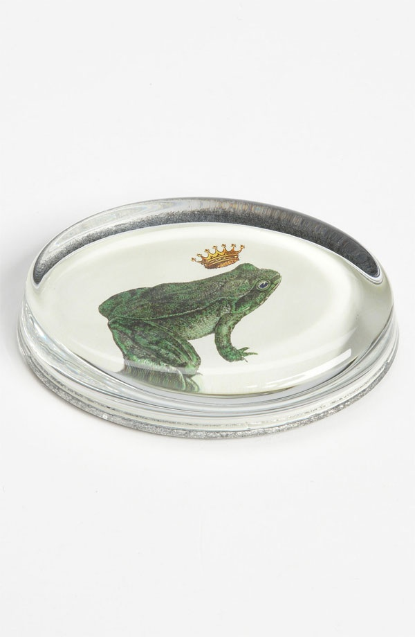 Ben's Garden #Decoupage Prince Charming #Frog #Paperweight
