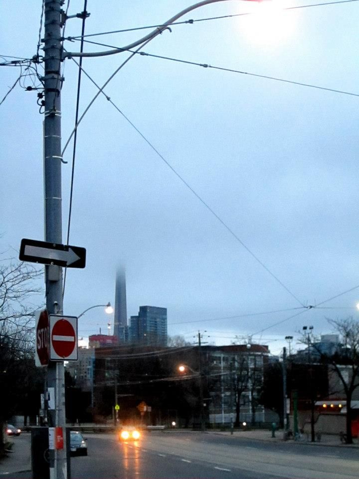 Hidden CN Tower, Toronto