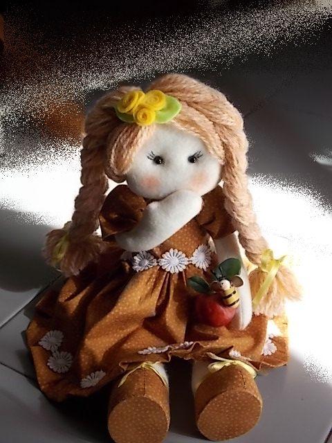 Nina.....bambola in panno