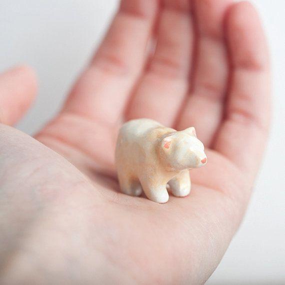 Spirit Bear, Bear Totem, Animal Totems, Miniatures - le animalé