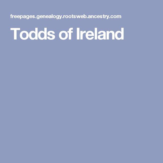 Todds of Ireland