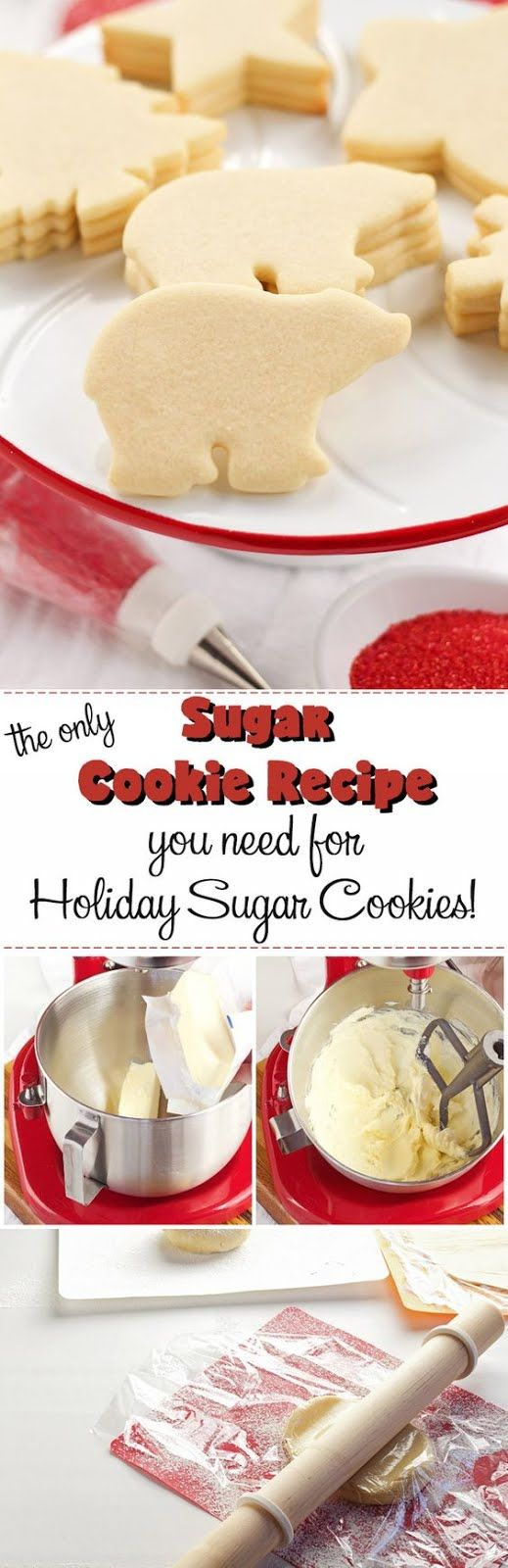 The ONLY Sugar Cookie Recipe You Will Need