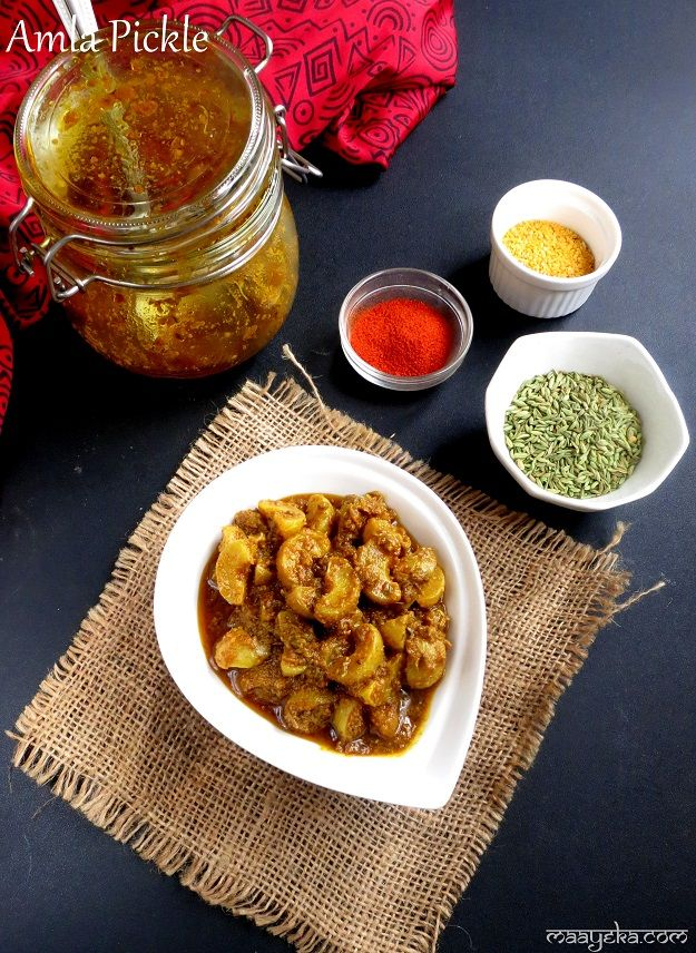 Amla pickle ,Indian Gooseberry Pickle