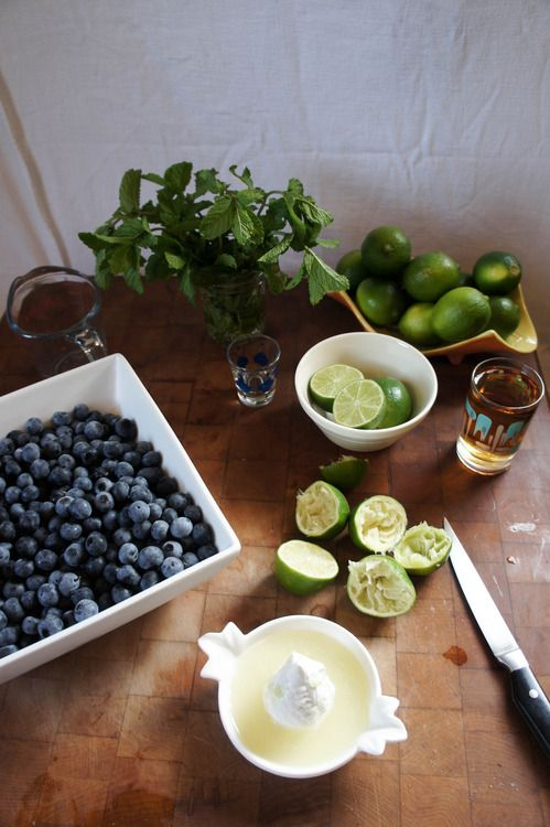 how to make blueberry marmalade