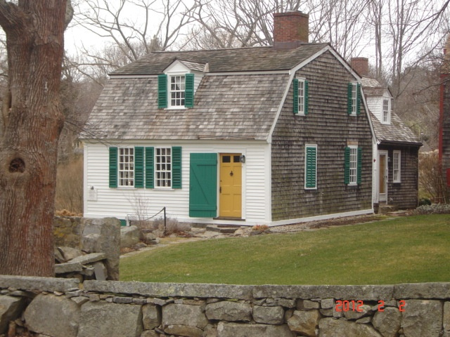 House at the head of the cove. circa 1761. located in Gloucester,Ma. The perfect Cape Ann cottage!