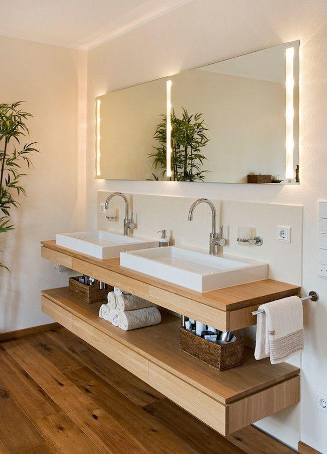 On évite l'encombrement - Comment décorer sa salle de bain pour une ambiance zen digne d'un spa