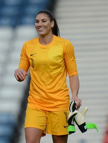 Happy birthday to #TeamUSA's awesome goal keeper #Hope Solo