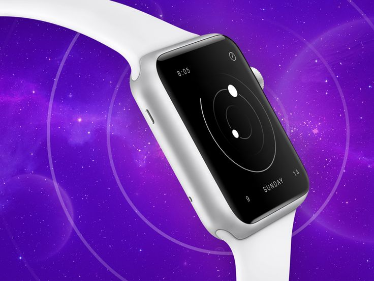 Apple Watch face concept