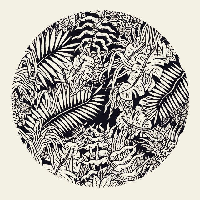 Freak City - pattern tropical jungle