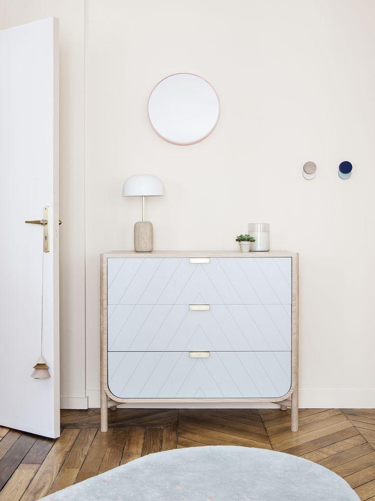 Sc ne boudoir by hart zoom sur la nouvelle commode for Ambiance boudoir decoration