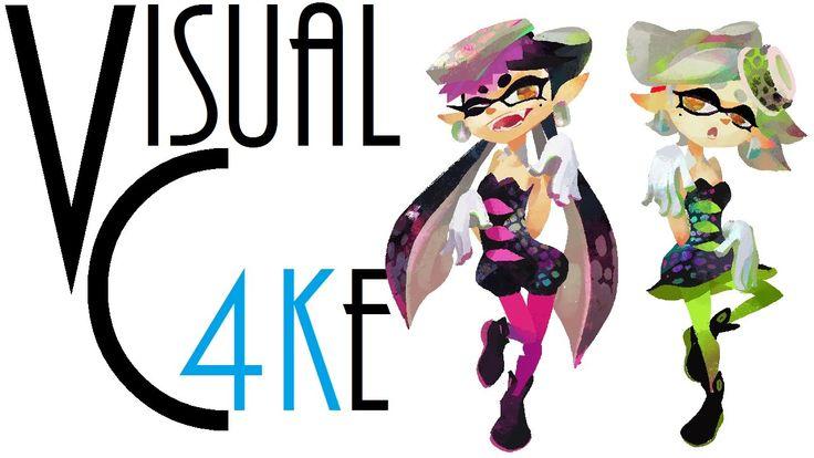 Squid Sisters Amiibo - Visual Cake - 007
