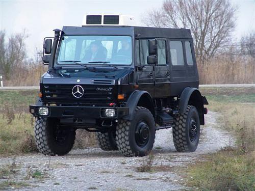 2002 Unicat Van (Unimog U5000)