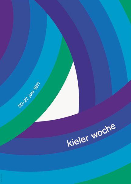 Bruno K. Wiese: Kieler Woche 1971 poster