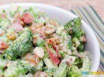Receita: Salada de Brócolis e Bacon - Malas e Panelas
