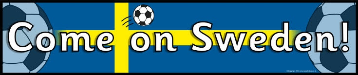 Sweden football/soccer display banners