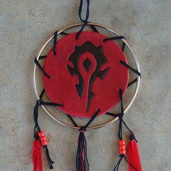 Warcraft Horde Dream Catcher