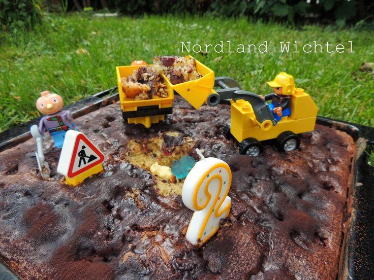 Nordland Wichtel : Der Lego Duplo Bagger-Kuchen