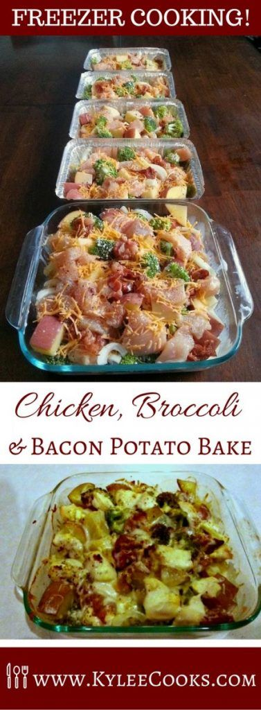 A tasty meal that is easy to double, triple or quadruple, so you have plenty of freezer meals when you need one! And it has bacon!  via @kyleecooks